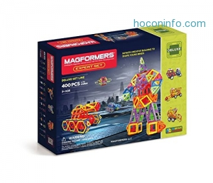 ihocon: Magformers Deluxe Expert Set (400-pieces)