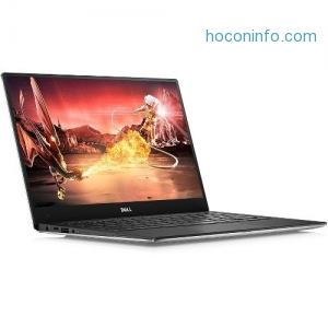 ihocon: Dell XPS9360-7697SLV-PUS  XPS 13 9360 13.3 Quad HD+ InfinityEdge Touch Notebook Computer, Intel Core i7-7560U, 16GB RAM, 512GB SSD, Windows 10 Home