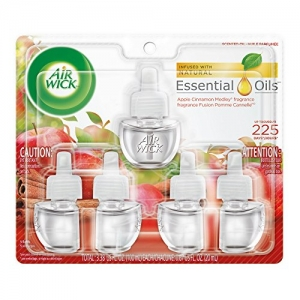 ihocon: Air Wick Scented Oil 5 Refills, Apple Cinnamon Medley 空氣清新劑補充瓶 5瓶