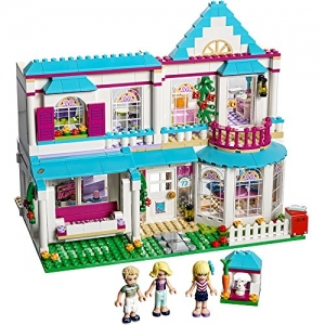 ihocon: LEGO Friends Stephanie's House 41314 Toy for 6-12-Year-Olds