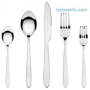 ihocon: HardyBlue 20-Piece Silverware Flatware Cutlery Tableware set, Stainless Steel餐具組
