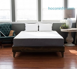 ihocon: Gel Memory Foam 10 inch Mattress | Made in the USA | Temperature Controlled and Resilient | Twin Long