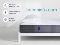 ihocon: Casper Supportive, Breathable and Unique Memory Foam Mattress - 10 Year Warranty