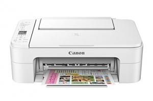ihocon: Canon TS3120 Wireless All-in-One Printer, White 無線多功能印表機