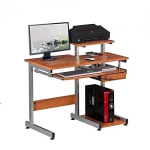 ihocon: Techni Mobili Complete Computer Workstation Desk. Color: Woodgrain 電腦桌