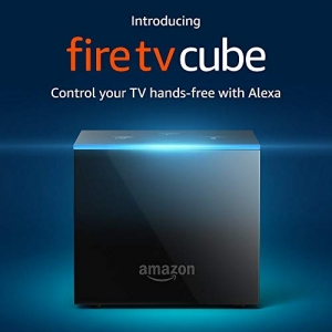 ihocon: Amazon Fire TV Cube with All-New Alexa Voice Remote & 4K Ultra HD Steaming Media Player (最新款)