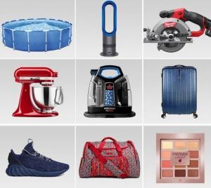 eBay: 15% off $25, 快逛Dyson, Samsonite, adidas, reebok, Hoover, GNC….