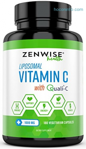 ihocon: Liposomal Vitamin C with 1000mg Quali®-C 脂質維他命C