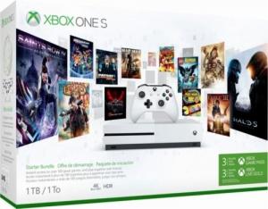 Microsoft Xbox One S 1TB Console – Starter Bundle $199免運(原價$299, 33% Off)