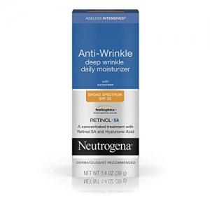 ihocon: Neutrogena Ageless Intensives Anti-Wrinkle Daily Facial Moisturizer with SPF 20 深層抗皺保濕霜