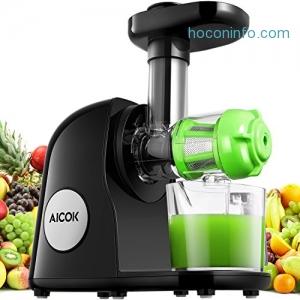 ihocon: Aicok 慢磨冷壓榨汁機 Slow Masticating Cold Press Juicer