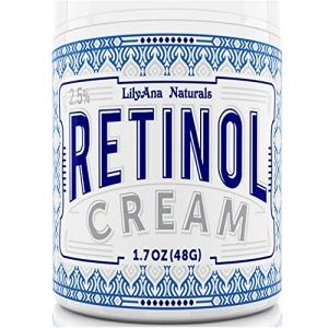 ihocon: LilyAna Naturals Retinol Cream Moisturizer 1.7 Oz 抗老保濕霜