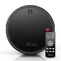 ihocon: Mooka HA1116 Tangle-Free HEPA-Style Robotic Vacuum Cleaner 自充電,超靜音吸地機器人