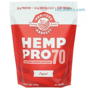 ihocon: Manitoba Harvest Hemp Pro 70 Protein Supplement, 32 oz.