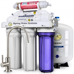 ihocon: iSpring 6-Stage Superb Taste High Capacity Under Sink Reverse Osmosis Drinking Water Filter System with Alkaline Remineralization 六段逆滲透淨水機