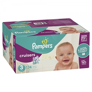 ihocon: Pampers Cruisers Disposable Baby Diapers, Size 3,174 Count