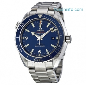 ihocon: Omega男錶 Men's Seamaster Planet Ocean (45.5mm) COSC Automatic Watch