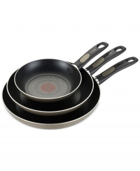 ihocon: T-Fal 3-Pk. Non-Stick Fry Pan Set ( 8, 10.5 and 12)不沾鍋組