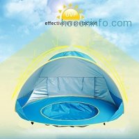 ihocon: HTKJ Foldable Pop Up Fun Pool with Sun shelter