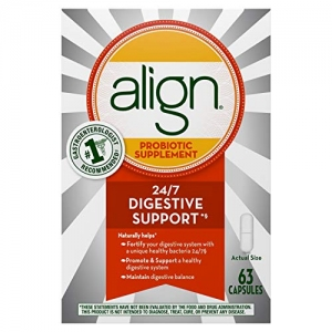 ihocon: Align Probiotic, Daily Supplement for Digestive Health, 63 capsules 益生菌63粒