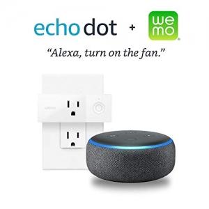 ihocon: Echo Dot (3rd Gen) + Wemo Mini Smart Plug