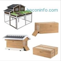 ihocon: SummerHawk Ranch Garden Trio Chicken Coop and Victorian Teak Backyard Bee Hive Kit
