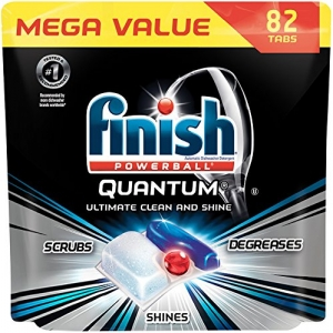 ihocon: Finish Quantum Dishwasher Detergent Tabs, Ultimate Clean & Shine, 82 Count 洗碗機清潔劑