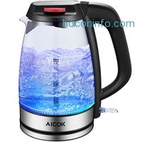 ihocon: Aicok Electric Kettle 玻璃電熱茶壺