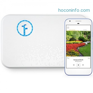 ihocon: Rachio WiFi Smart Lawn Sprinkler Controller, Works with Alexa, 8-Zone (2nd Generation)