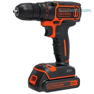 ihocon: Black & Decker BDCDD120C 20V MAX Lithium Single Speed Drill/Driver
