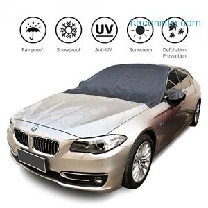 AUSHEN Windshield Car Cover with 6 Magnets汽車擋風玻璃遮陽/擋雪保護罩 $7.97(原價$18.99, 58% Off)
