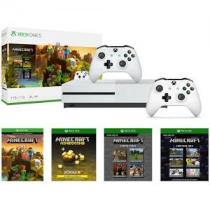 ihocon: Xbox One S 1TB Minecraft Creators Bundle + Extra Xbox Wireless Controller