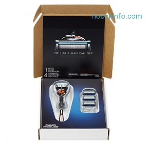 ihocon: Gillette Fusion ProGlide Bundle男士刮鬍刀一組