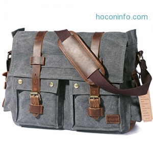 ihocon: Lifewit 15.6-17.3 Men's Messenger Bag/Laptop Bags