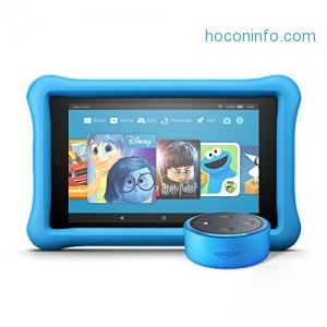ihocon: Echo Dot Kids Edition + Fire HD 8 Kids Edition - 多色可選