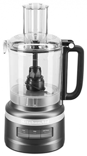 ihocon: KitchenAid KFP0919BM 9 Cup Plus Food Processor, Black Matte 食物調理機