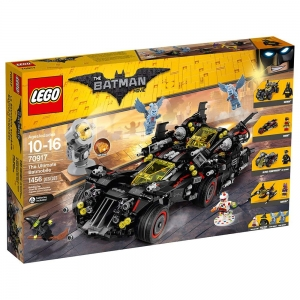 ihocon: LEGO 樂高BATMAN MOVIE The Ultimate Batmobile 70917 Building Kit蝙蝠俠電影終極蝙蝠車