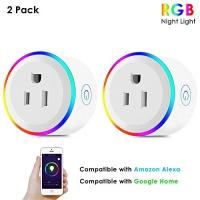 ihocon: [不在家也能遙控電器] Mesuvida Wifi Smart Plug - Works with Amazon Alexa Echo and Google Assistant智能插座