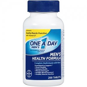 ihocon: One A Day Men's Health Formula Multivitamin, 200 Count 男士綜合維他命