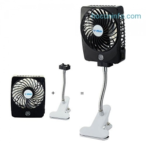 ihocon: Niceshop Mini Rechargeable Fan 迷你風扇