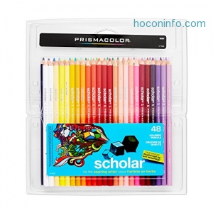 ihocon: Prismacolor 92807 Scholar Colored Pencils, 48-Count彩色鉛筆
