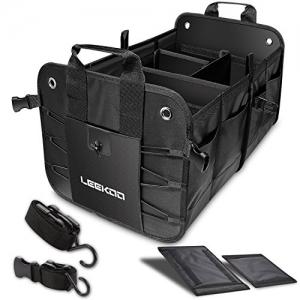 ihocon: LEEKOO Collapsible Car Trunk Organizer車用收納箱