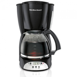ihocon: Hamilton Beach 12 Cup Programmable Coffee Maker | Model# 49465R 12杯自訂程序咖啡機