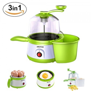 ihocon: Aikotoo 3 in 1 Egg Cooker/ Popcorn Popper