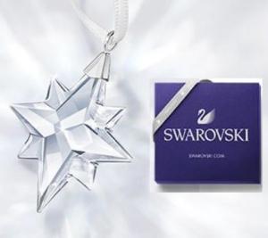 Swarovski施華洛世奇官網: 折扣高達5折 + 滿$150送星星掛飾