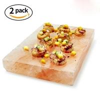 ihocon: Tker Himalayan Natural Salt cooking Blocks(8 x 4 x 1) -2 pack喜馬拉雅鹽板