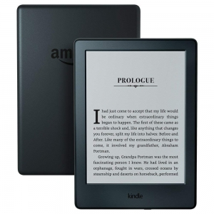 ihocon: Kindle E-reader - Black, 6 Display, Wi-Fi - Includes Special Offers + Kindle Unlimited (with auto-renewal)