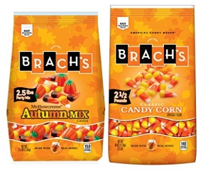 ihocon: Brach's. Candy Corn and Autumn Mix Duo, 2 Count 40 Ounce Bags