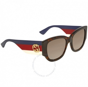 ihocon: Gucci Brown Gradient Sunglasses GG0276S-002 53