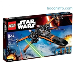 ihocon: LEGO Star Wars Poe's X-Wing Fighter 75102 Star Wars Toy